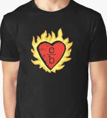 clothes over bros heart logo Graphic T-Shirt