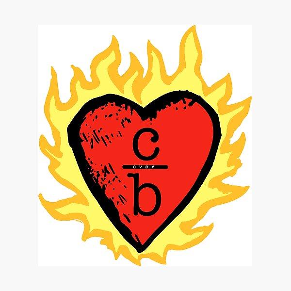 clothes over bros heart logo Photographic Print