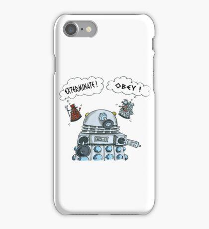 The Inner Workings of the Dalek Mind iPhone Case/Skin