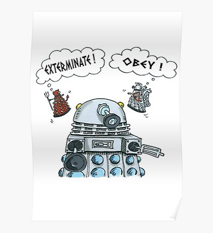 The Inner Workings of the Dalek Mind Poster