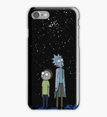 Rick and Morty x Calvin and Hobbes iPhone Case/Skin