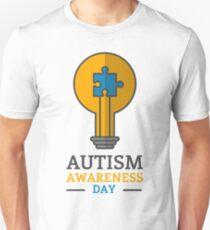 Autism awareness day Unisex T-Shirt