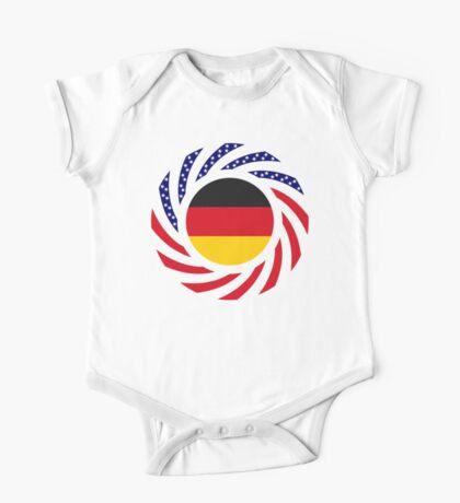 German American Multinational Patriot Flag Series Kids Clothes