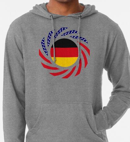 German American Multinational Patriot Flag Series Lightweight Hoodie