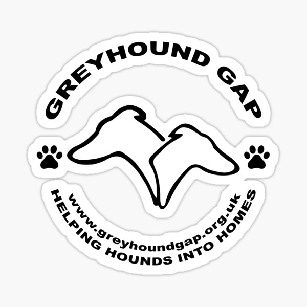 Helping Hounds into Homes Sticker