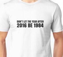 1984 George Orwell Free Speech Small Government Libertarian Unisex T-Shirt