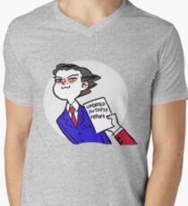 updated autopsy report Men's V-Neck T-Shirt