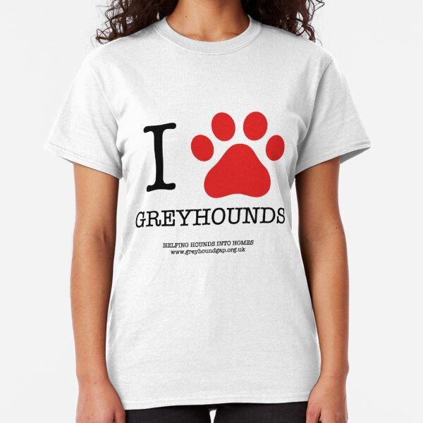 I PAW GREYHOUNDS Classic T-Shirt