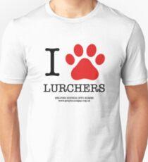 I PAW LURCHERS Unisex T-Shirt