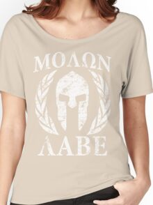 molon labe 1 Women's Relaxed Fit T-Shirt