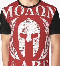 Camiseta gráfica molon labe 1