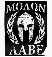molon labe 1 Poster