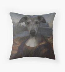 Bone-a-Lisa Throw Pillow