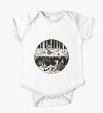 Hide Away  Short Sleeve Baby One-Piece