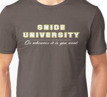 Snide University Unisex T-Shirt