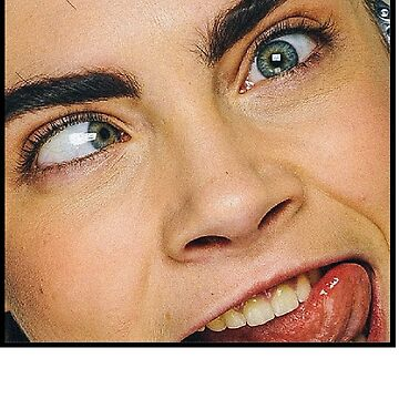 Cara Delevingne – TONGUE OUT by ishqhakhidzr