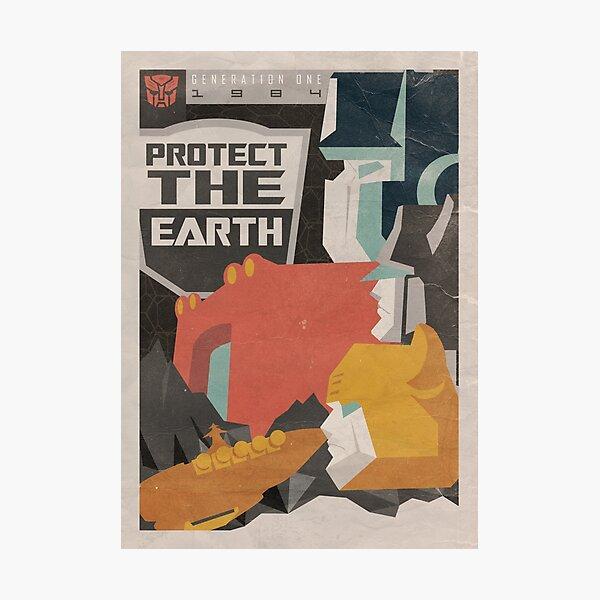 Protect Photographic Print