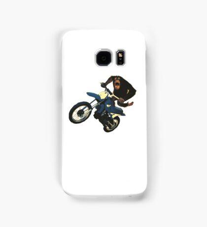 Monkey on a Dirt Bike Samsung Galaxy Case/Skin