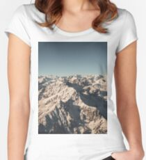Lord Snow - Landscape Photography Women's Fitted Scoop T-Shirt