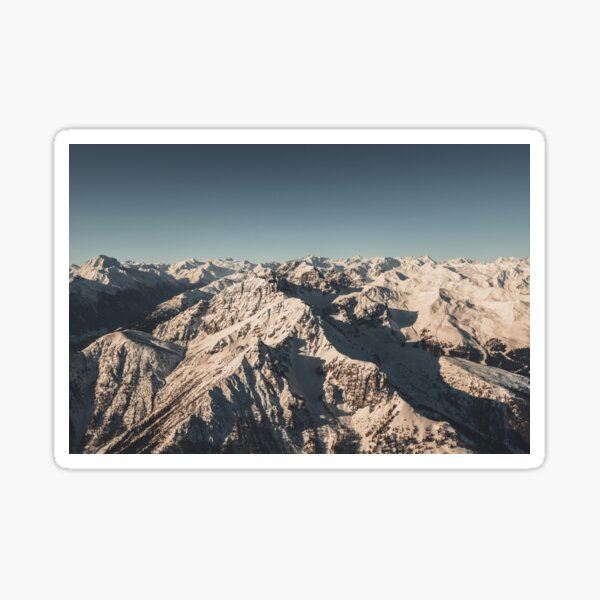 Lord Snow - Landscape Photography Sticker