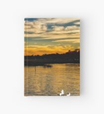Murrells Inlet Sunset Hardcover Journal