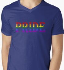 PRIDE Mens V-Neck T-Shirt