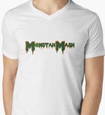Monstah Mash meets St. Paddy's Men's V-Neck T-Shirt