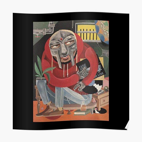 a masked man called doom Poster