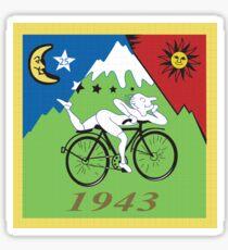 Entdeckung von LSD Sticker