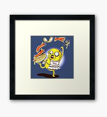 Jake Adventure Time Bacon Framed Print