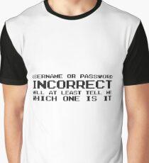Password Computer Humour Joke IT Tech Geek Nerd Internet Graphic T-Shirt