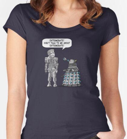 Dalek Adams 2 Women's Fitted Scoop T-Shirt