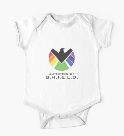 Autistics of S.H.I.E.L.D. (for light backgrounds) Kids Clothes