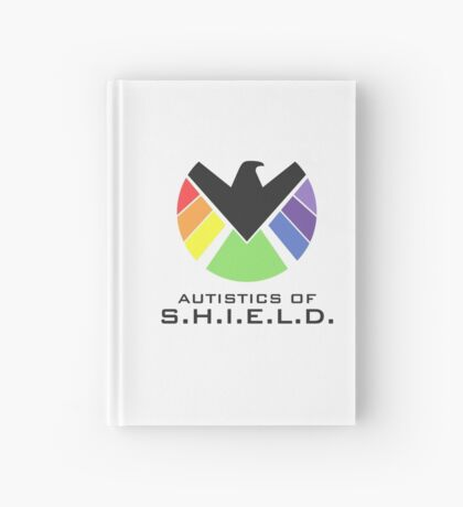 Autistics of S.H.I.E.L.D. (for light backgrounds) Hardcover Journal