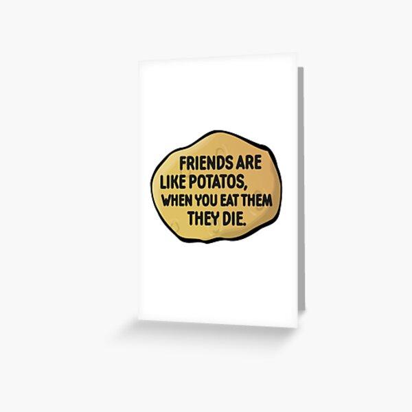 Funny Random Humour Joke Comedy Weird Greeting Card