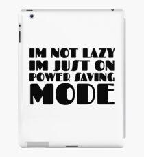 Laziness Lazy Humour Funny Joke Comedy iPad Case/Skin
