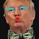 Trump Kissy Face by Thelittlelord