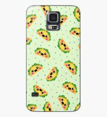 Happy Taco Pattern Case/Skin for Samsung Galaxy