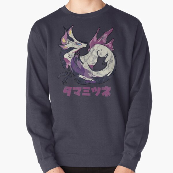 Monster Hunter Rise Mizutsune Kanji Icon Pullover Sweatshirt