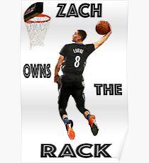 ZACH LAVINE ACHIEVES ORBIT Poster
