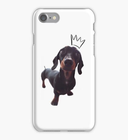 The Sausage Dog Prince iPhone Case/Skin