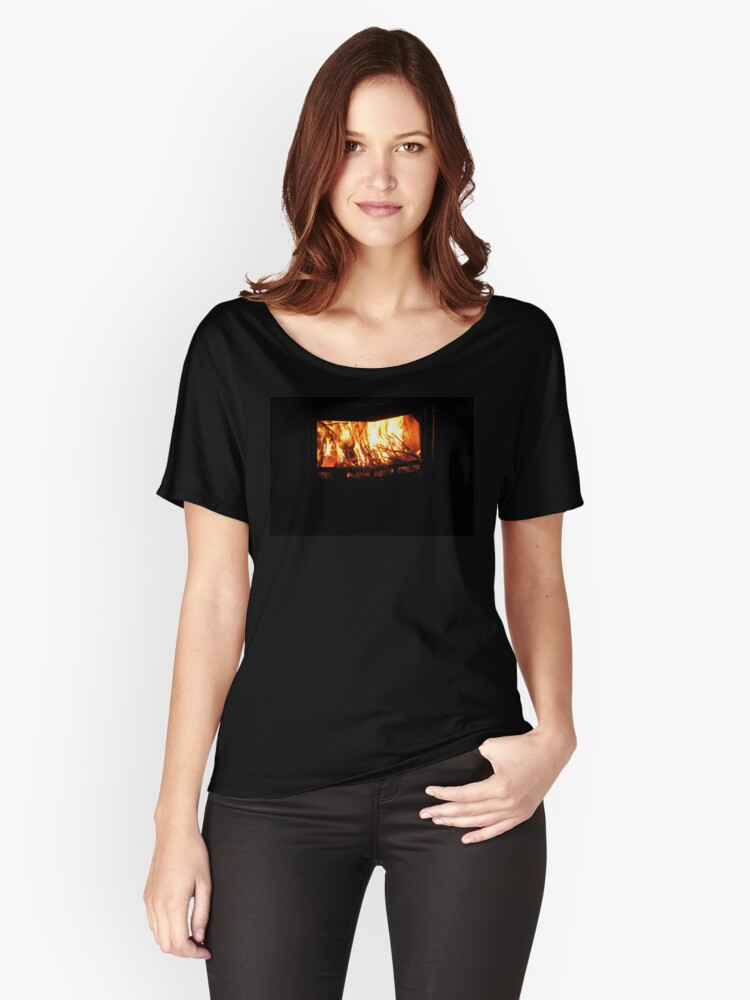 Burning Bright Women's Relaxed Fit T-Shirt Front