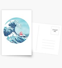 Ponyo and the great wawe (best version) Postcards