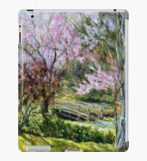 Plum Blossoms Japanese Garden  iPad Case/Skin