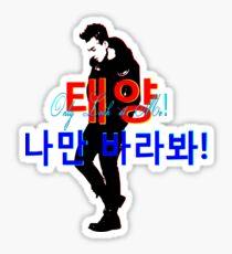 ♥♫Only Look - BigBang-TaeYang♪♥ Sticker