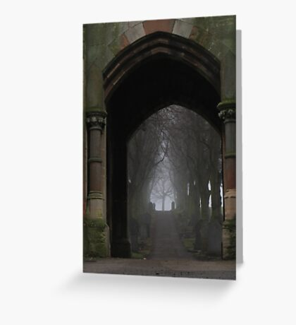 Ethereal route Greeting Card