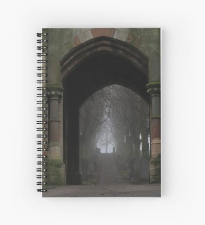 Ethereal route Spiral Notebook