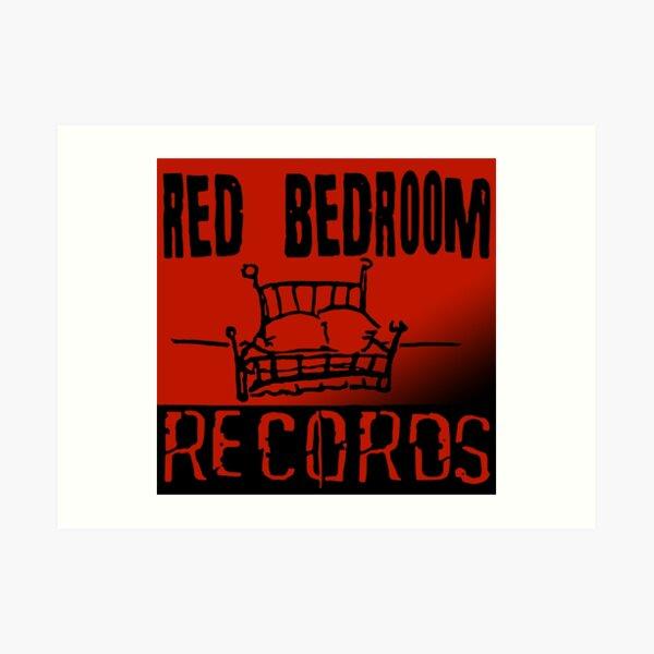 Red Bedroom Records Art Print