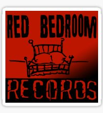 Red Bedroom Records Sticker