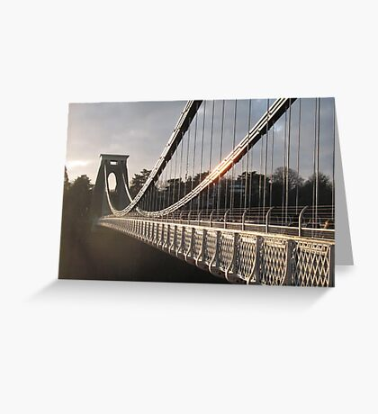 Across the Gorge Greeting Card